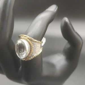 Jewelry - Silver Ring with CZ 💎